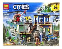 """Конструктор BELA Cities """"Полицейский участок в горах"""" 10865 ( 705 деталей, фото 1"""