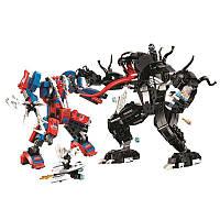 """Конструктор BELA Super Heroes """"Человек-паук против Венома"""" 11188 (Аналог LEGO) 625 детей"""