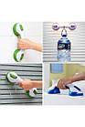 [ОПТ] Портативна ручка-поручень Helping Handle на вакуумних присосках для ванни і туалетної кімнати, фото 3