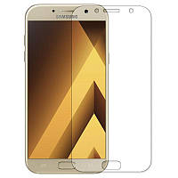 Противоударная защитная пленка  Remax Samsung A720 Galaxy A7 2017 Прозрачная Передняя и задняя