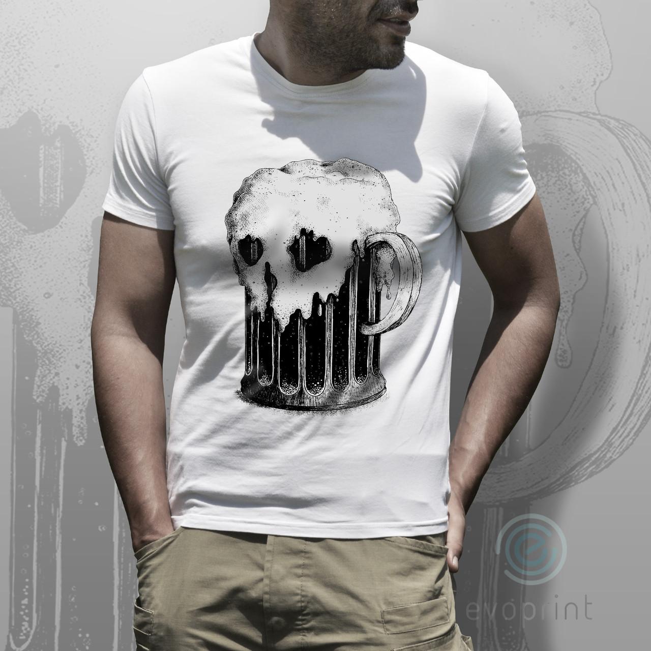 Нанесение рисунков на футболки