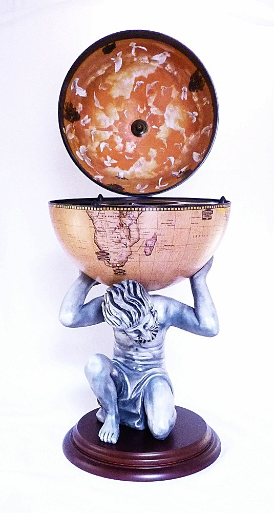 """Глобус-бар напольный """"Atlas"""" 42016 N-WE"""