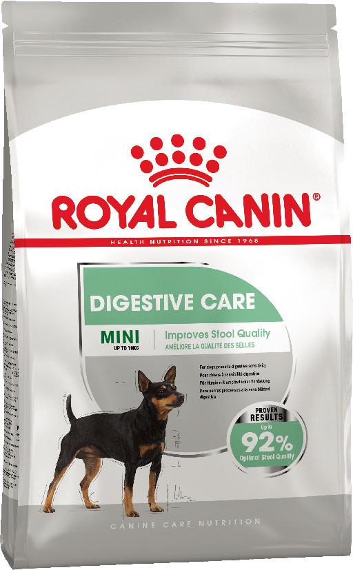 Сухий корм Royal Canin Mini Digestive Care для собак малих порід з чутливим травленням 1КГ
