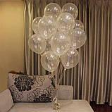 """Кулька прозорий 12"""" (30 см) Gemar 110-00 1593, фото 2"""