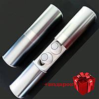 Навушники Wi-pods S2 Bluetooth бездротові Bluetooth водонепроникні із зарядним кейсом. Білі