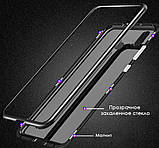 Магнітний метал чохол Metal Frame для Huawei Honor 8X / Скла на дисплей у наявності /, фото 5