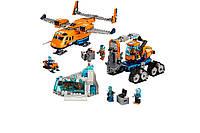 """Конструктор LELE Cities """"Арктический грузовой самолёт"""" 28021 (Аналог LEGO 60196) 743 деталей"""