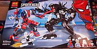 """Конструктор BELA Super Heroes """"Человек-паук против Венома"""" 11188 (Аналог LEGO 76115) 625 детей"""