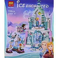 """Конструктор Bela Ice Enchanted """"Волшебный ледяной замок Эльзы"""" 10664 (Аналог Lego 41148) 709 деталей"""