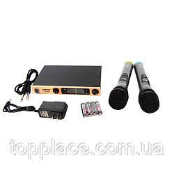 Радиосистема SHURE SH-588D с 2 беспроводными микрофонами