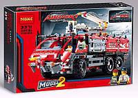 """Конструктор Decool Technic """"Автомобиль спасательной службы"""" 3371 (Аналог LEGO Technic 42068) 1110 деталей"""