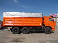 """Тент на  """"Камаз"""" зерновоз 6,2 * 2,5м. Накидка из ПВХ ткани - Бельгия 650 г/м2."""