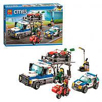 Конструктор BELA Cities Ограбление грузовика 10658 (Аналог LEGO 60143) 427 деталей