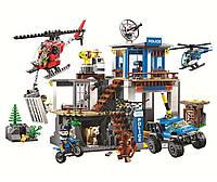 """Конструктор BELA Cities """"Полицейский участок в горах"""" 10865 (Аналог Lego 60174) 705 деталей"""