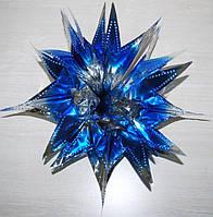 Звезда подвесная (Синяя) 40 см 040316-027