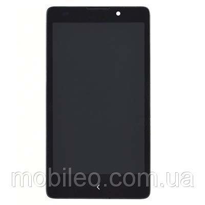 Дисплей (LCD) Nokia XL RM-1030   RM-1042   RM-1061 с тачскрином, чёрный