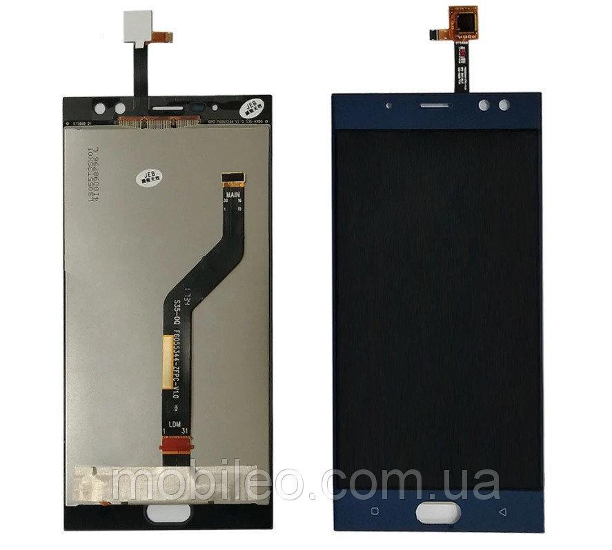 Дисплей (LCD) Oukitel K3 с тачскрином, синий