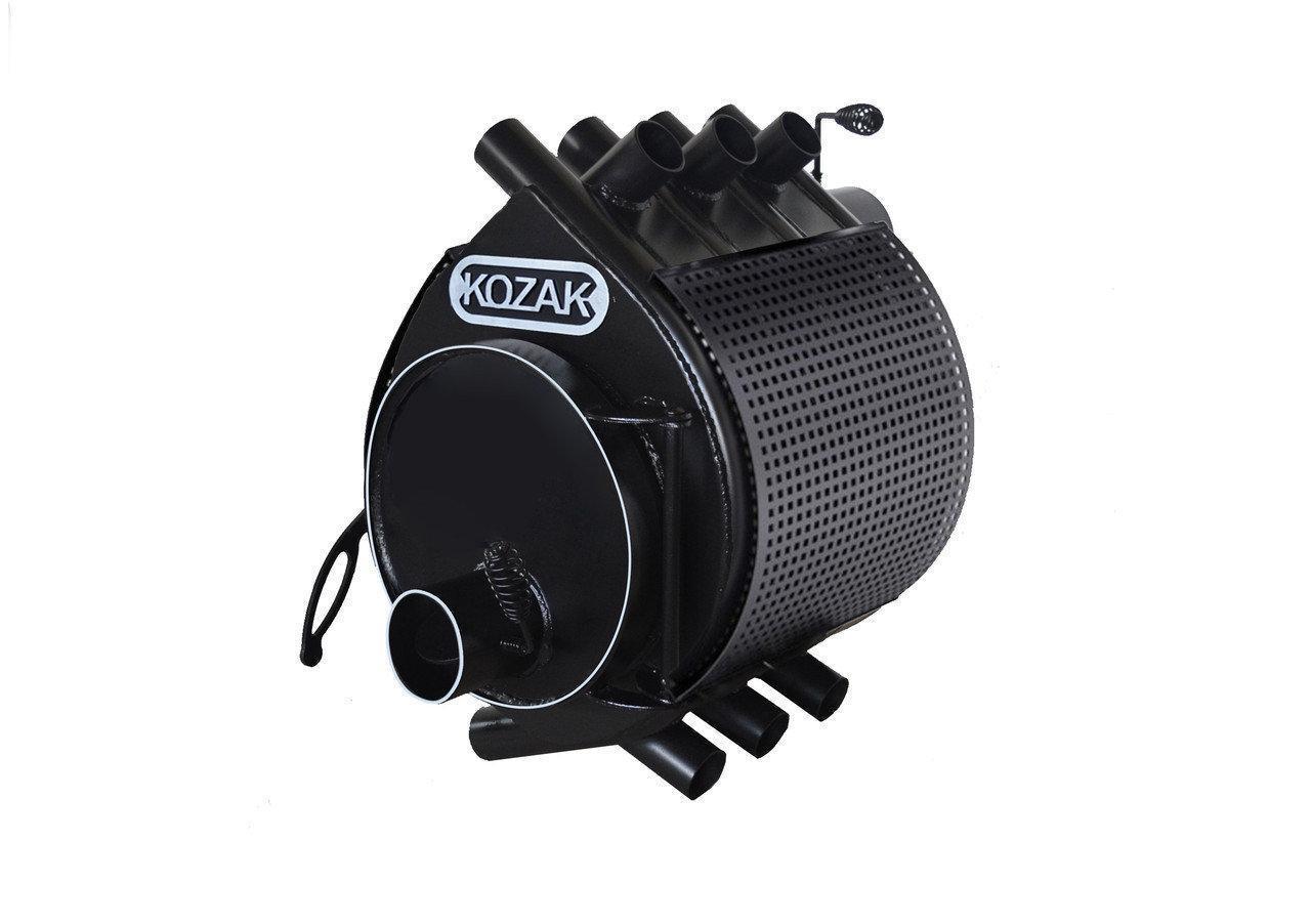 Печь-булерьян Kozak Тип 02 - 400 м3 + защитный кожух