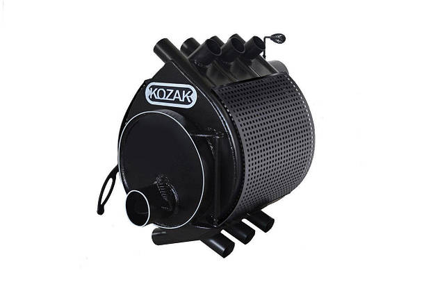 Печь-булерьян Kozak Тип 02 - 400 м3 + защитный кожух, фото 2
