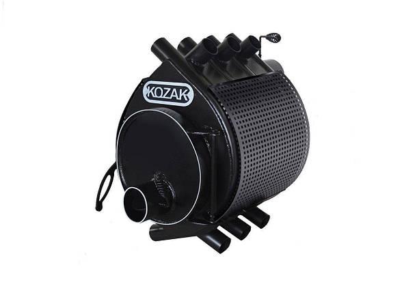 Печь-булерьян Kozak Тип 01 - 200 м3 + защитный кожух, фото 2