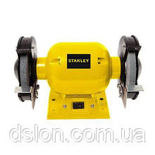 Точило STANLEY, 370 Вт, абразивный диск 150 мм,  2950 об/мин, защита.