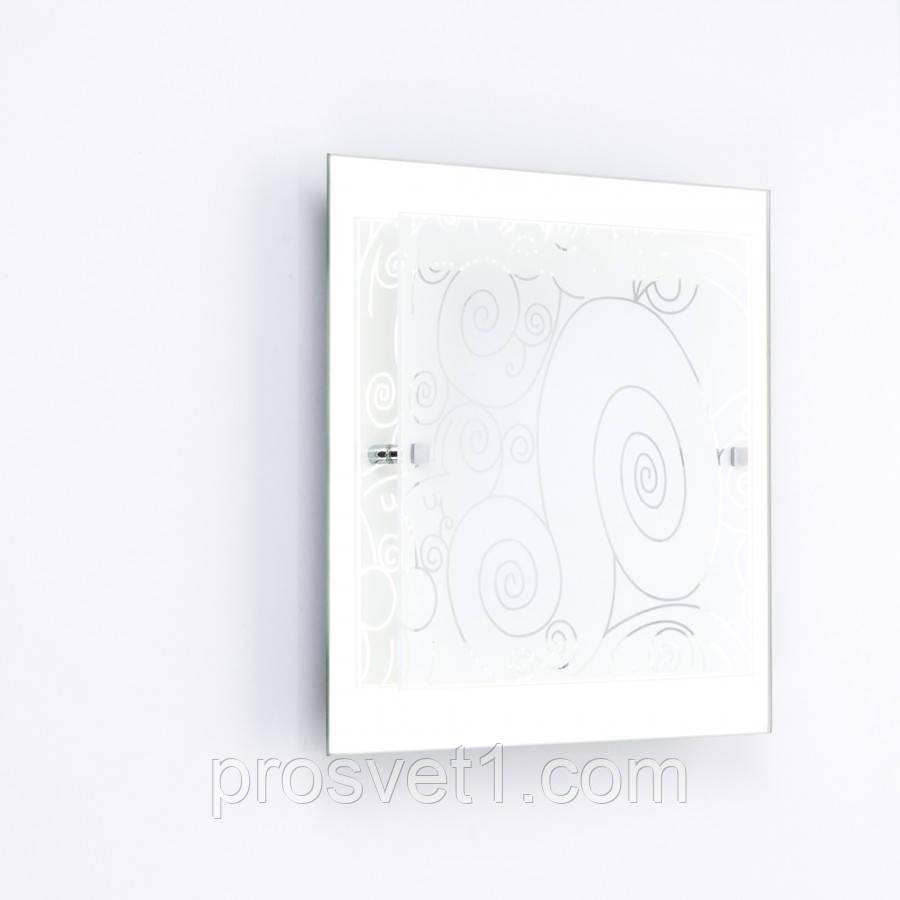 Светильник квадрат припотолочный Декор-Калейдоскоп