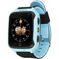 Детские умные часы Smart Watch Q529 Original с GPS и камерой Sky Blue