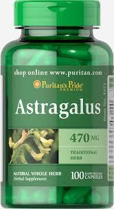 Астрагал, Puritan's pride Astragalus 470 mg 100 capsules