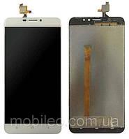Дисплей (LCD) Oukitel U20 Plus с тачскрином, белый