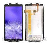Дисплей (LCD) Oukitel WP5000 с тачскрином, черный