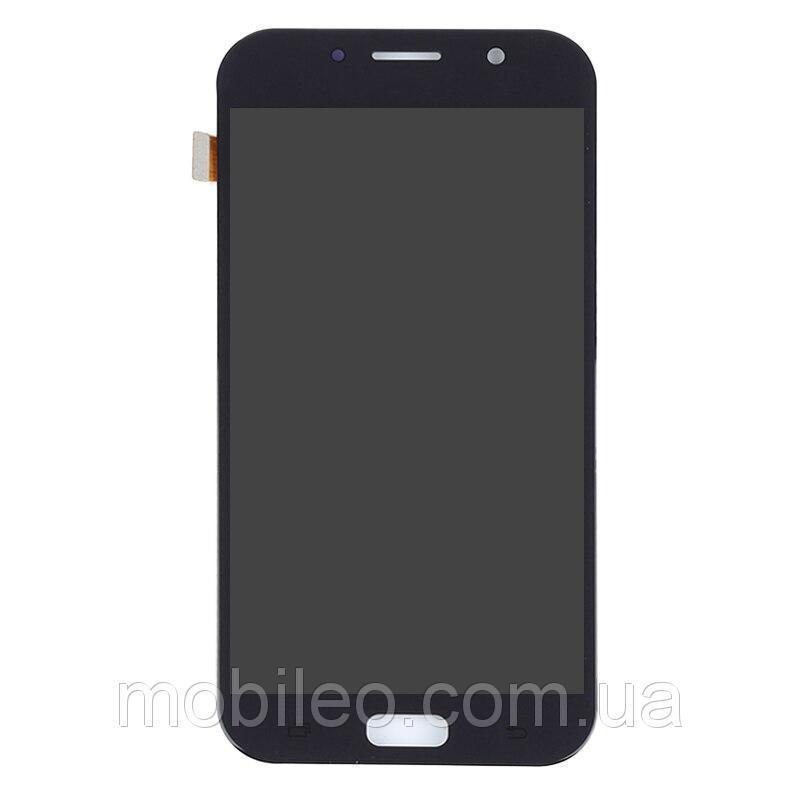 Дисплей для Samsung A720 Galaxy A7 (2017) TFT (подсветка оригинал) с тачскрином, черный