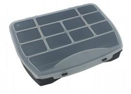 Органайзер пластиковий з фіксованими секціями Haisser Domino 25 (90035)