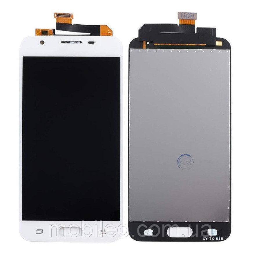 Дисплей (LCD) Samsung G570 Galaxy J5 Prime G570F Tft (подсветка оригинал) с тачскрином, белый