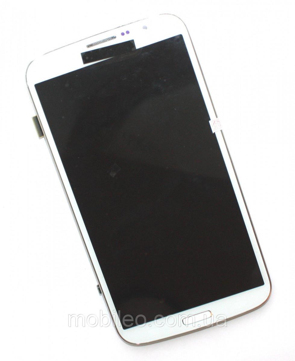 Дисплей (LCD) Samsung i9200 Galaxy Mega 6.3 | I9205 с тачскрином, белый, оригинал (PRC)