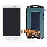 Дисплей (LCD) Samsung i9300 Galaxy S3 Tft (подсветка оригинал) с тачскрином, белый
