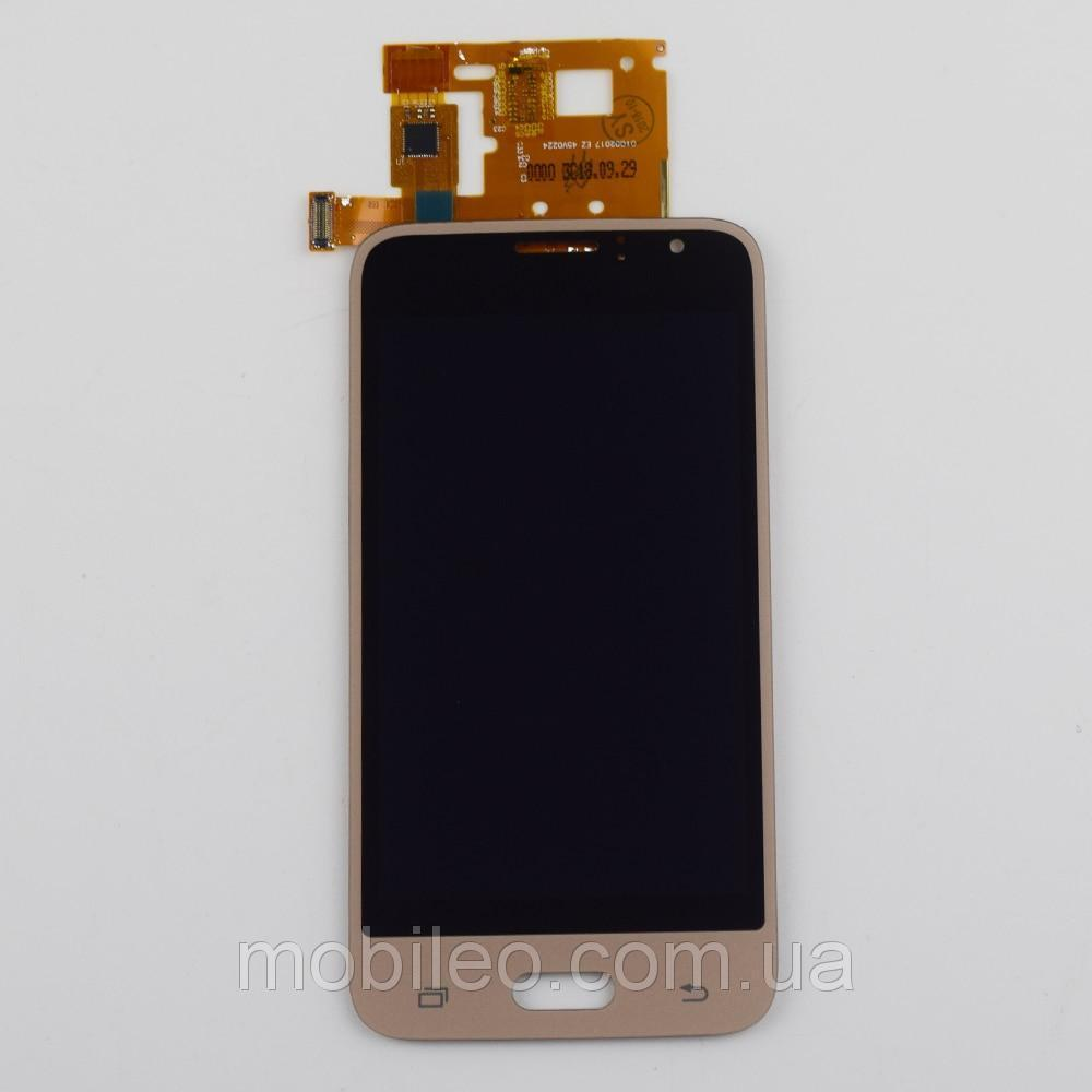 Дисплей (LCD) Samsung J120 Galaxy J1 (2016) TFT с тачскрином, золотой