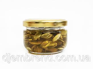 Мед с семечками тыквы в баночке, 140 г