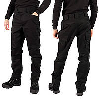 Тактические штаны Fortech черные