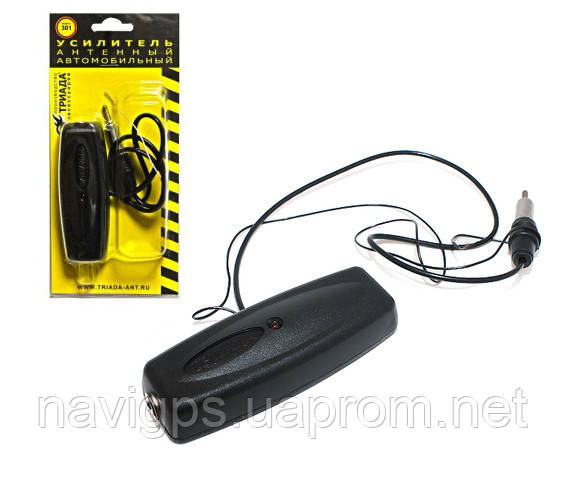 Автомобильный антенный радио усилитель для автомагнитолы Триада 301, 16 дБ УКВ и FM