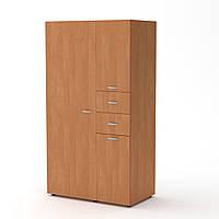 Шкаф-19 ольха Компанит (111х62х203 см)
