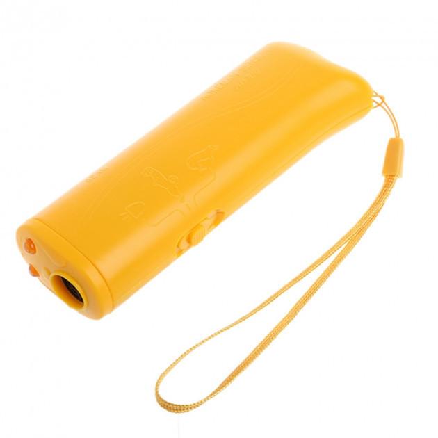 🔝 Отпугиватель для собак, Ultrasonic, AD-100, Желтый.эффективная, защита от собак   🎁%🚚