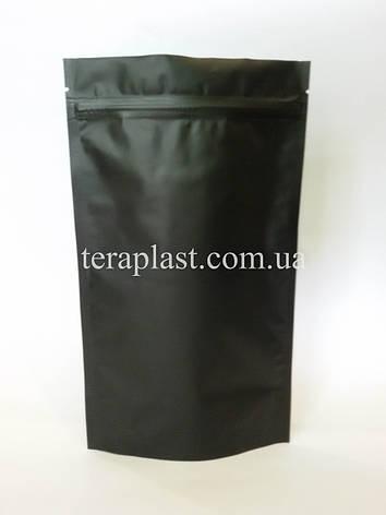 Дой-Пак 3кг черный 320х500 с зип замком, фото 2