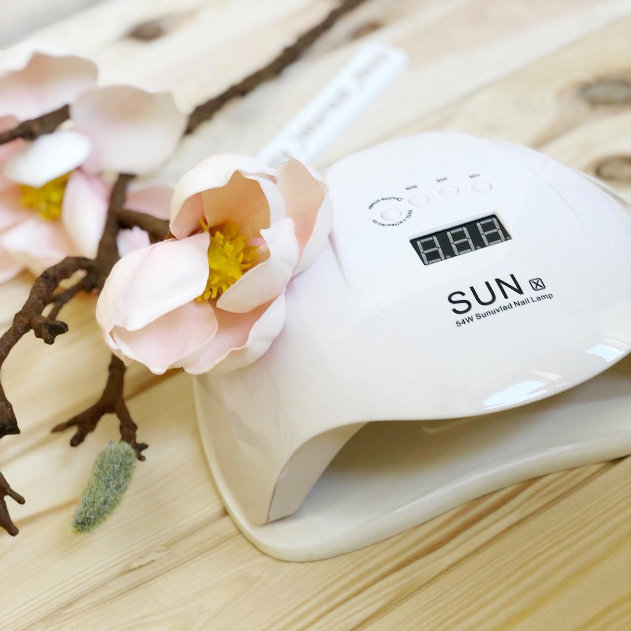 Лампа для маникюра SUN X UV/LED, 54 Вт