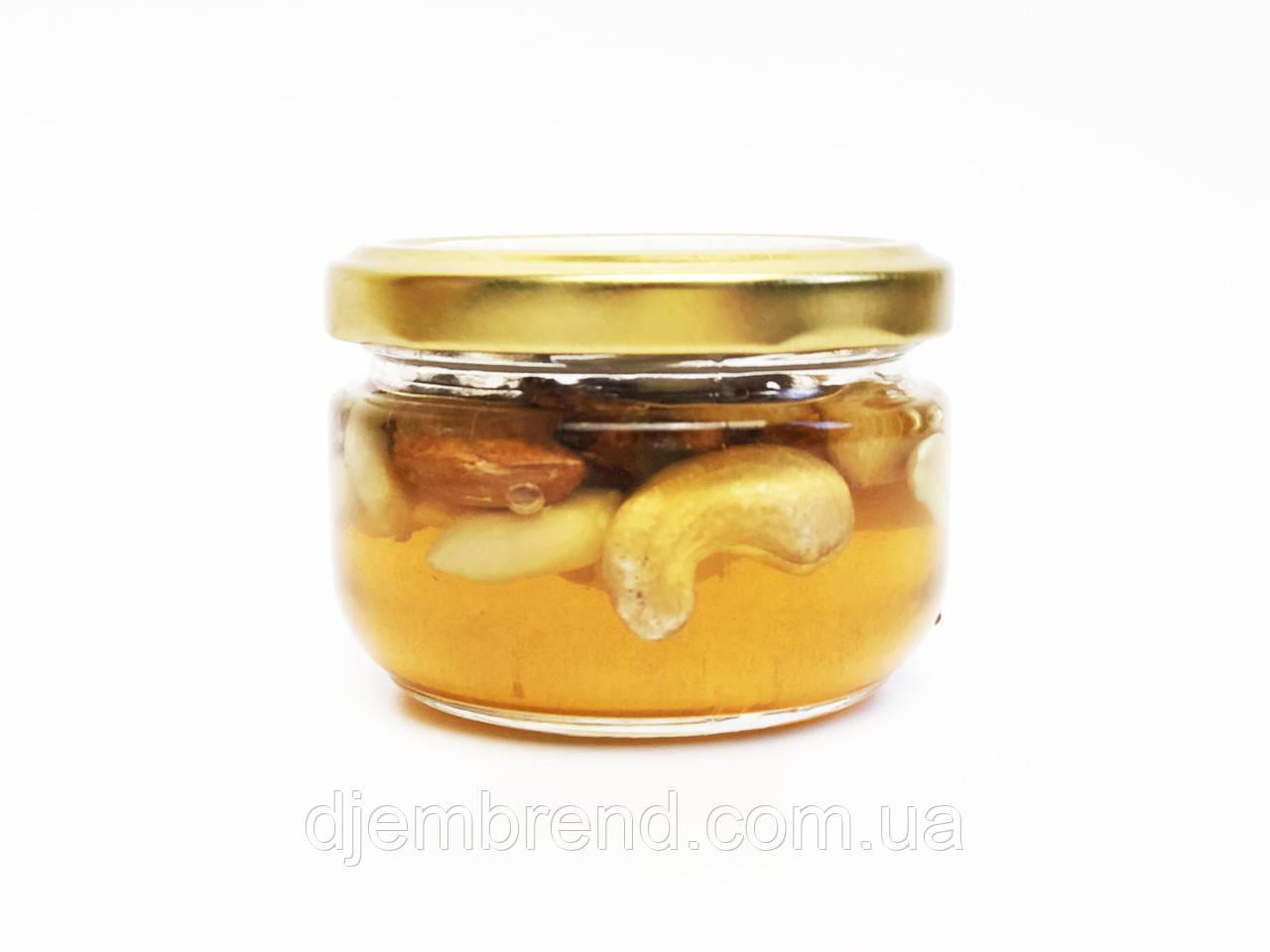 Мед ассорти орехов в баночке, 140 г