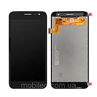 Дисплей (LCD) Samsung J260 Galaxy J2 Core (2018) Tft (подсветка оригинал) с тачскрином, черный