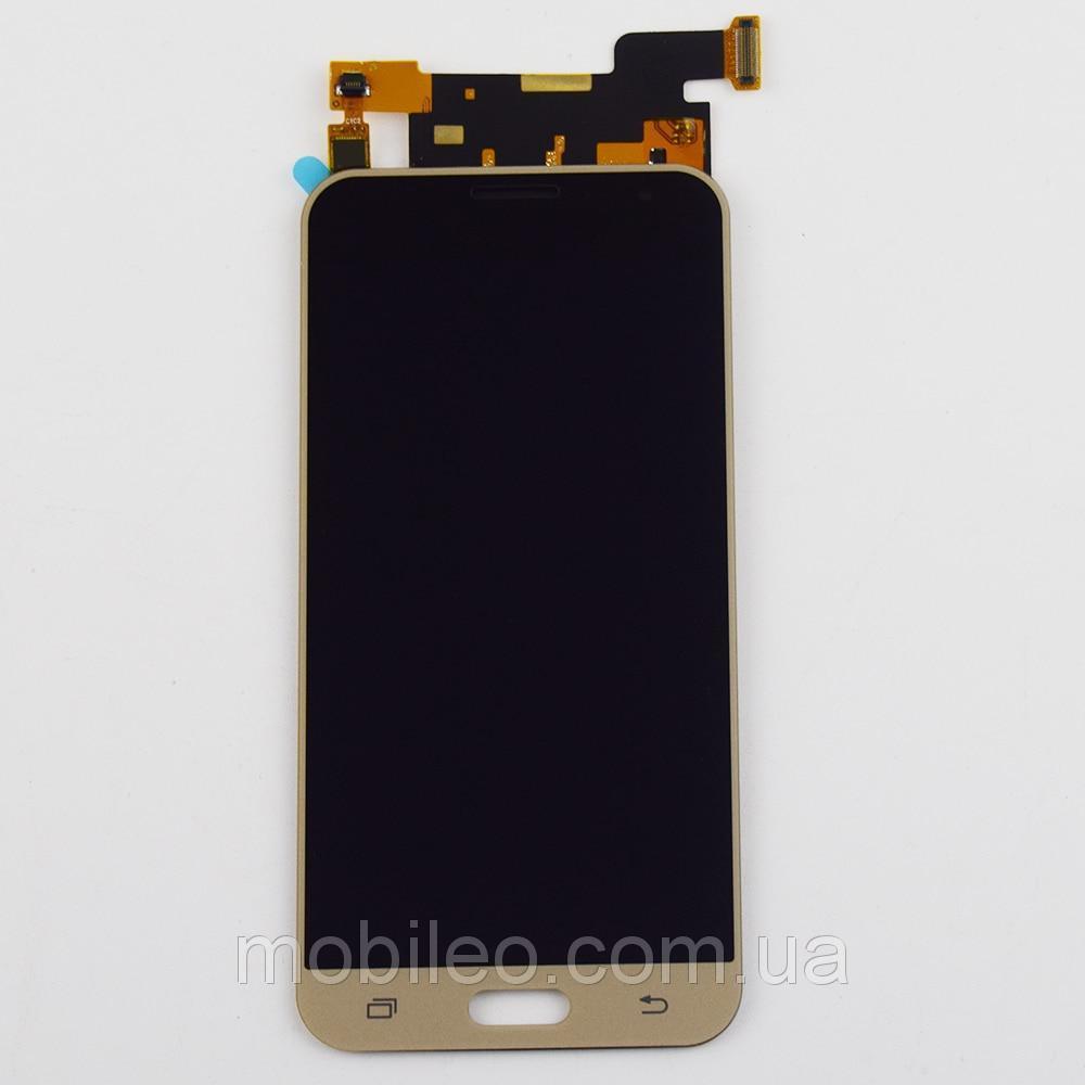 Дисплей (LCD) Samsung J320 Galaxy J3 (2016) TFT (подсветка оригинал) с тачскрином, золотой
