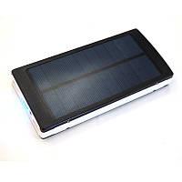 Портативное зарядное устройство с солнечной батареей Power Bank 20000 mAh *1274