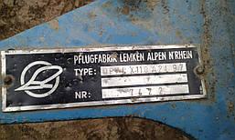 Навесной плуг оборотный 3-х корпусный Lemken Opal X 110, фото 2