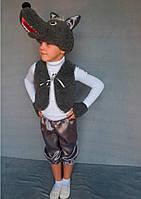 Детский карнавальный костюм Волк, фото 1