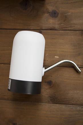 Электронасос для воды. USB Чорний корпус, фото 2